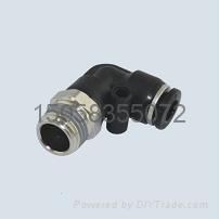 批发上海PL L型直通气动接头德士托