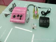 电动美甲打磨机带金刚钻头PTL228