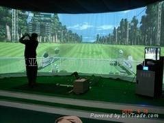 廠家供應室內高爾夫