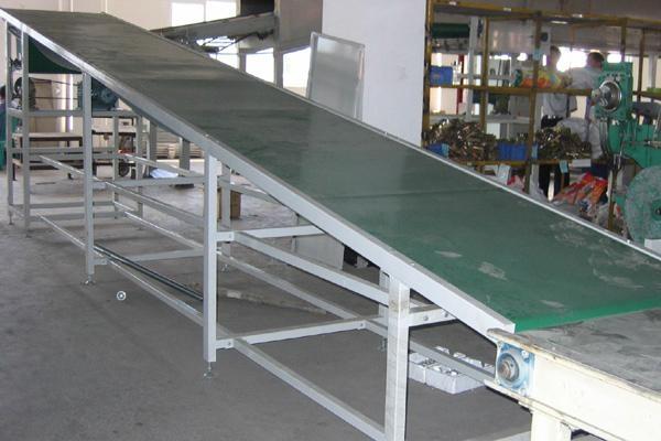 供应山东青岛不锈钢皮带输送机 2