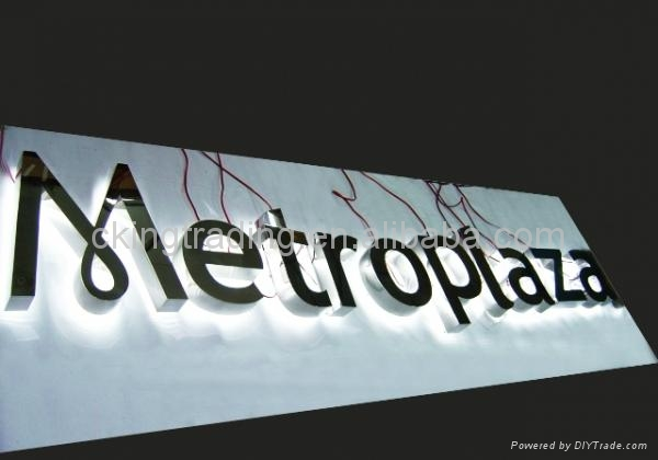 Lit up Acrylic Luminous Letters all styles available ...
