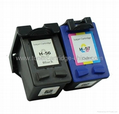Compatible Ink cartridge for HP 56/57