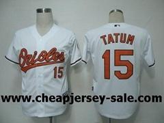 Baltimore Orioles MLB jersey man TATUM 15