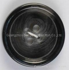 Black Chalk Button
