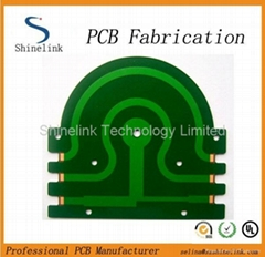 Green Solder Mask Double-sided Printed circuit board PCB