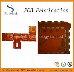 Double-sided Flex Printed circuit board Flex PCB