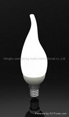 ceramic lampholder LED BULB CL35 2~3W