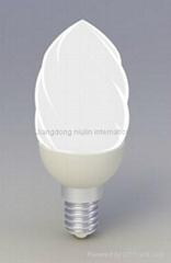 ceramic lampholder LED BULB CT37 2~3W
