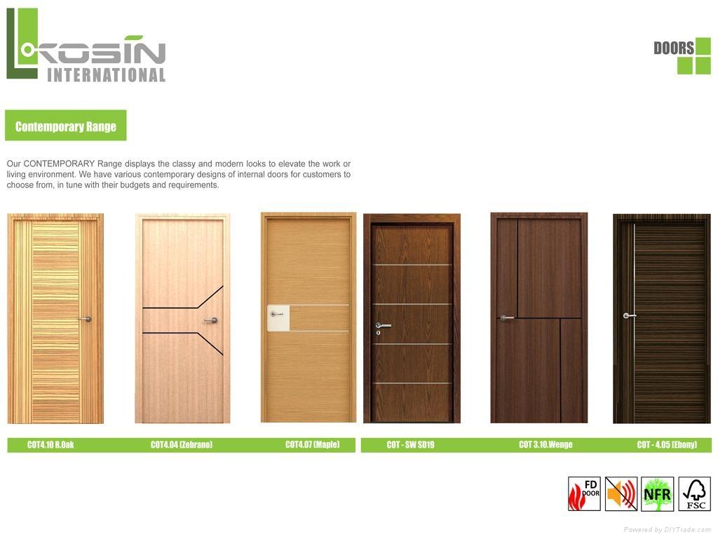 kosin   contemporary door series vietnam manufacturer