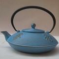 Healthy cast iron teapot