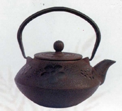 Cast iron teapot 0.8L for colors