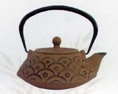 Japanese style iron teapot 0.9L