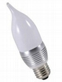 LED 尖形球泡外殼配件(3*1W) 1