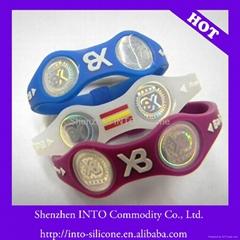 silicone energy band power balance bracelet
