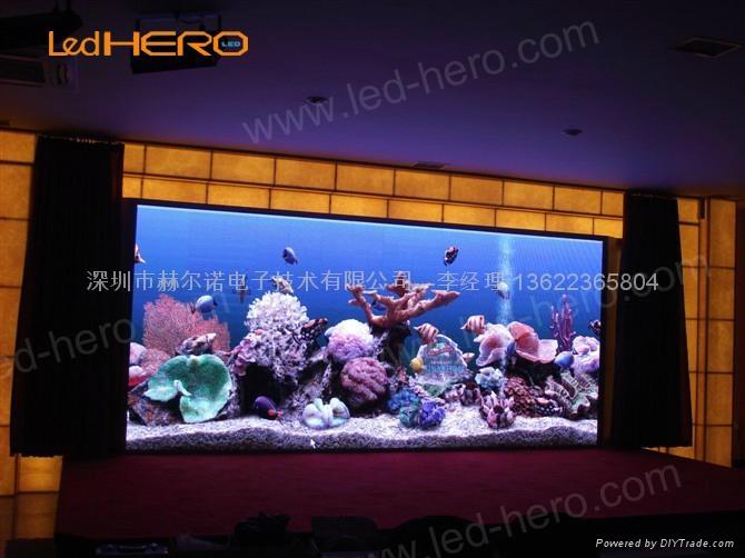 赫爾諾室內高清P6全彩顯示屏 2