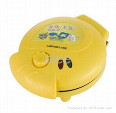 Electric Lovely Cartoon Intelligence Cake Maker Yellow