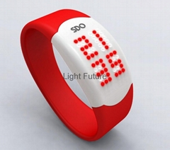 LED硅膠手錶