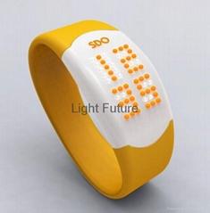 时尚LED情侣腕表