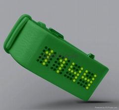 新款LED皮手錶