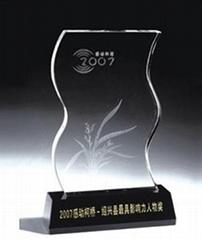西安水晶奖杯工艺品