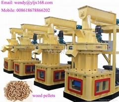 Efficient centrifugal wood pellet machine