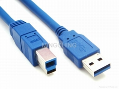 USB3.0连接线,A公对B公头