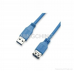 USB 3.0 cable, USB AM to USB AF