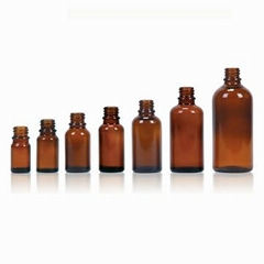Medicine glass bottles   ethereal oil bottle