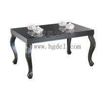 威菱隱藏導磁鋼化玻璃餐桌