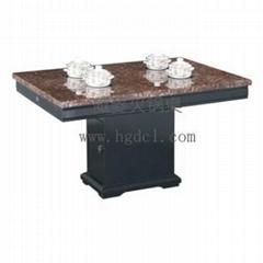 天然大理石火鍋桌