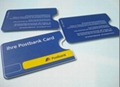 plastic hard case card holder