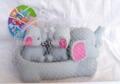 elephant(soft plastic toy)