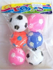 5 styles football toy