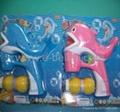 Automatic Solid Color whales bubble gun