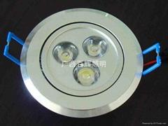 LED 3W天花射灯