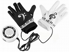 Electronic Piano Music Gloves