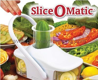 Slice-O-Matic Vegetable Slicer and Chopper 1