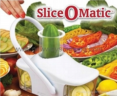 Slice-O-Matic Vegetable Slicer and Chopper