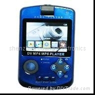 2.4 inch rotating MP4 camera game player
