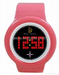Provide 2012 new led touch screen creative electronic gifts concept watch
