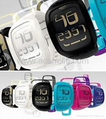 Classic swatch touch led watch with cool appearence