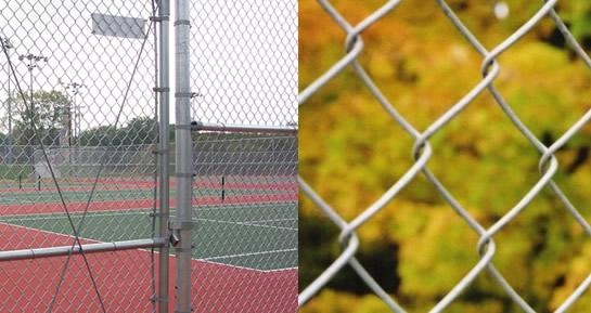 Galvanized Chain Link Fence 1