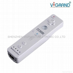 Remote Nunchuck Controller Motion Plus For Wii 2in1