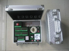 AC power meter with dimmer and Euro socket