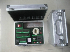 AC power meter with dimmer