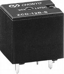 供应汽车继电器 T78-12VDC-A B C
