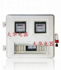 山东8表插卡SMC玻璃钢电表箱