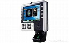 Color screen fingerprint