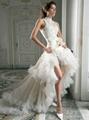 New Style  Organza Wedding Dress Bridal Gown 1