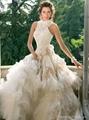 New Style  Organza Wedding Dress Bridal Gown 2
